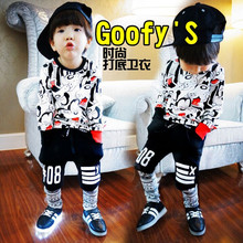 Free Shipping  Autumn 2015 New Children South Korean   Cartoon Children Special Sweater(China (Mainland))