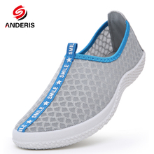 2016 Summer women men mesh breathable casual shoes woman Man's flats Lightweight Water shoes breathable Zapatillas Casual Shoes