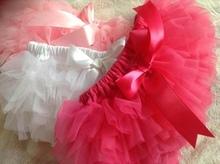 NEW Baby Girls Tutu Bloomers Ruffle Diaper Cover(China (Mainland))