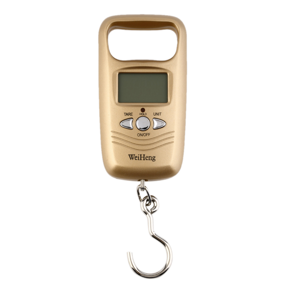 Гаджет  Pocket Portable Mini 50kg LCD Digital Hanging Luggage Weight Hook Scale Hot New  None Инструменты