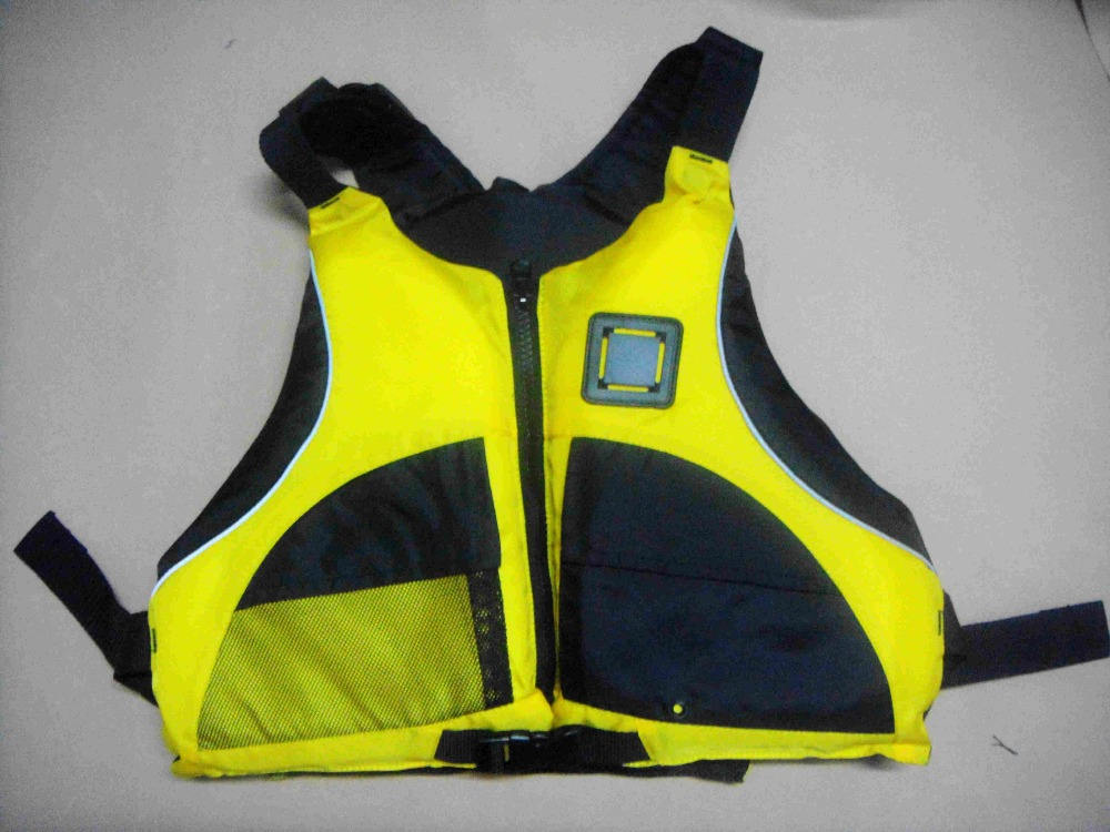 Free shipping Kayak Life Jackets With SOLAS Standard Adult size one size fits all, marine life vest, buoyancy aids, life jacket(China (Mainland))