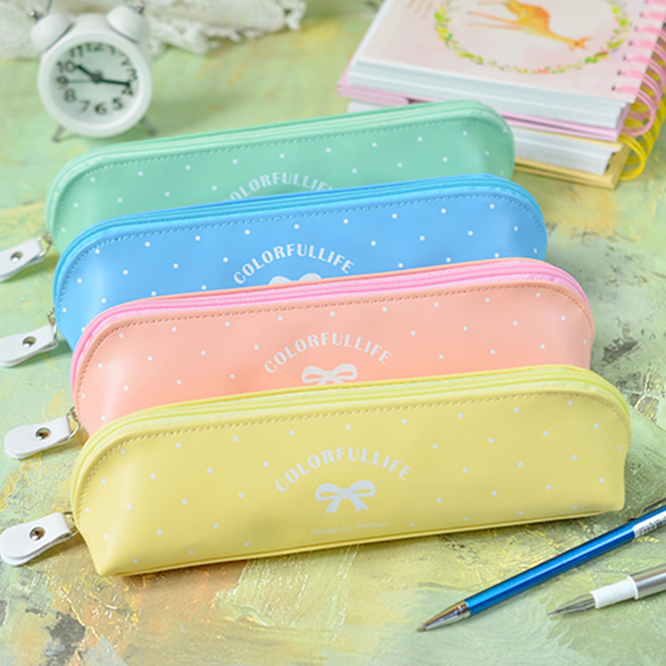Jinbao Wen with wholesale creative bow silicone jelly Pencil large capacity pencil case XQQ-150411<br><br>Aliexpress