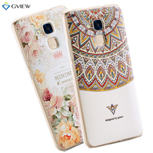 3D Relief Print Transparent Soft TPU Back Cover Case Huawei Honor 5C Phone Bag Coque Style - Vayai Group Technology Co., Ltd. store