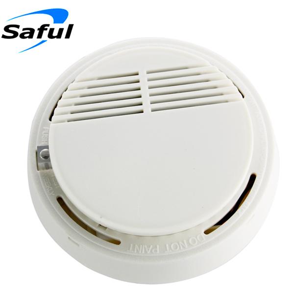 Wholesale alarm system sensors GSM photoelectric smoke alarm/ wireless smoke detectors