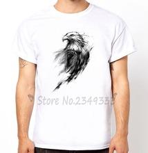 Eagle Eye Print Men t shirt Fashion tshirts Man Short Sleeve Modal Top Tee Hipster Funny Drop Ship SH 120 - ZYTJY Baby-Go Store store