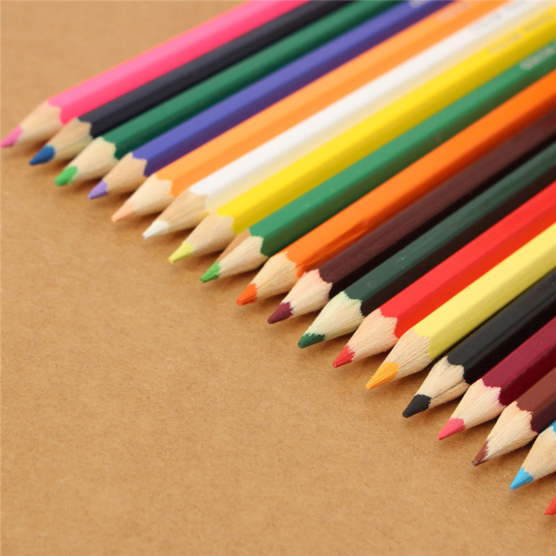 18 Colors/lot Drawing Pencils Artist Sketch Wood Colored Pencil Set for Drawing Stationery Drawing Office Material Art Supplies<br><br>Aliexpress