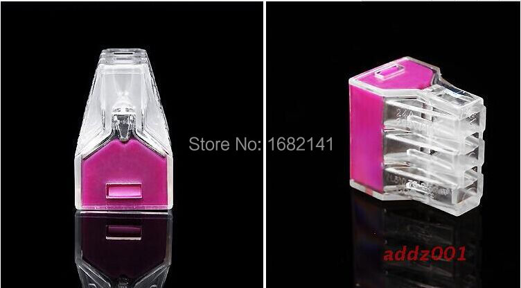 Free Ship,New Purple 773-106 Wago 6 Six Wire Connectors Crimp Connector Terminator/Terminal Electrical Terminals Binnel Online(China (Mainland))