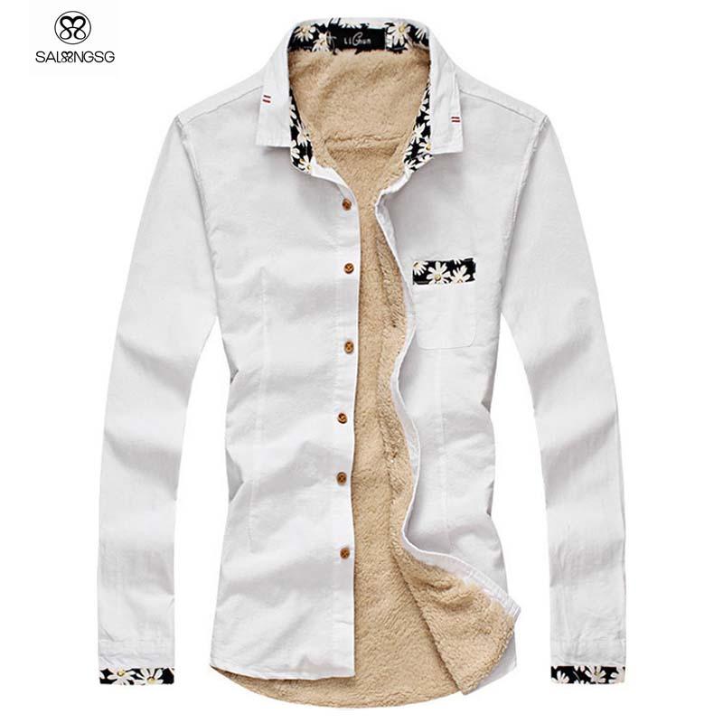 Buy Mens Dress Shirts Long Sleeve Cotton