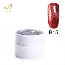 Buy 3D Nail Art UV/LED Soak Paint Gel Red Platinum Nail Polish Factory UV Gel Nail Pure Glitter Colors Gelpolish 1pcs Bling Gel ) for $1.31 in AliExpress store