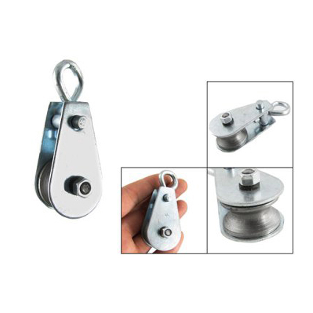 Pulleys And Blocks For Sale : Wsfs hot sale single swivel lifting quot rope pulley