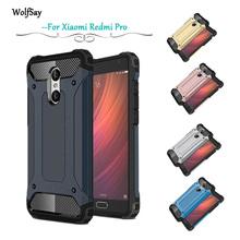 Buy Xiaomi Redmi Pro Case Slim Armor Anti-Shock Silicone Rugged Rubber Hybrid Hard PC Phone Case Redmi Pro Cover Fundas #< for $3.32 in AliExpress store