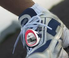 Бесплатная доставка, уникальный подарок обуви кружева жк шагомер с счетчик шагов, расстояние измерительный и калорий дисплей