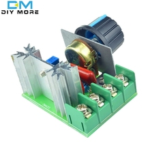 AC 220V 2000W SCR Voltage Regulator Dimming Dimmers Speed Controller Thermostat Electronic Voltage Regulator Module(China (Mainland))
