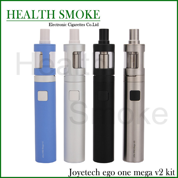 100% Original Joyetech eGo ONE Mega V2 Starter Kit with 4ml Atomizer and 2300mah Battery full kit(China (Mainland))