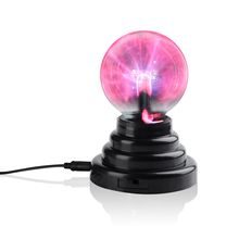 Hot Sale Plasma Ball Lamp Static Magic Night Electronic New Multi Color Water Faucet globe sphere usb party Photophore(China (Mainland))