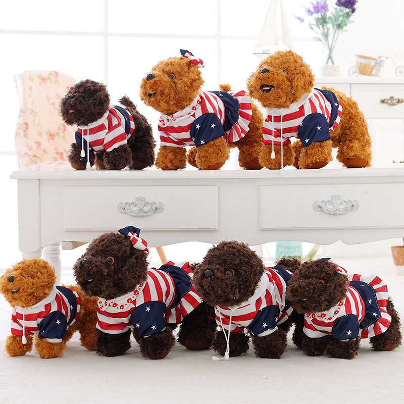 Valentine S Day Dog Toys : Cute teddy dog doll plush toys bear toy