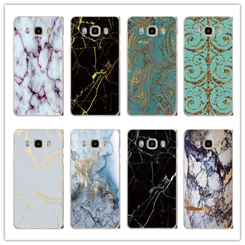 For Samsung Galaxy A3 A5 A7 J1 J5 J7 S3 S4 S5 S6 S7 S7edge Case Fashion Marble Stone image Painted Cover New Screen Protector(China (Mainland))