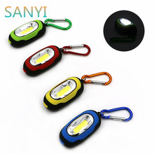 Buy Mini Keychain Pocket Torch COB LED Flash Light Flashlight Lamp 25Lm 3 Modes Multicolor Mini-Torch Button Battery for $1.12 in AliExpress store