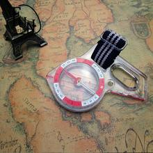 FunSeries Professional High Magnetic Thumb Compass  with Map Scale for Orienteering Hiking Camping Bicycle Motocross Ultra-fast(China (Mainland))