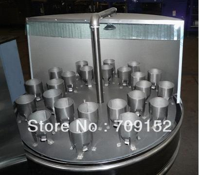 Semi-automatic bottle rinsing machine, bottle washing machine, beverage processing machine(China (Mainland))