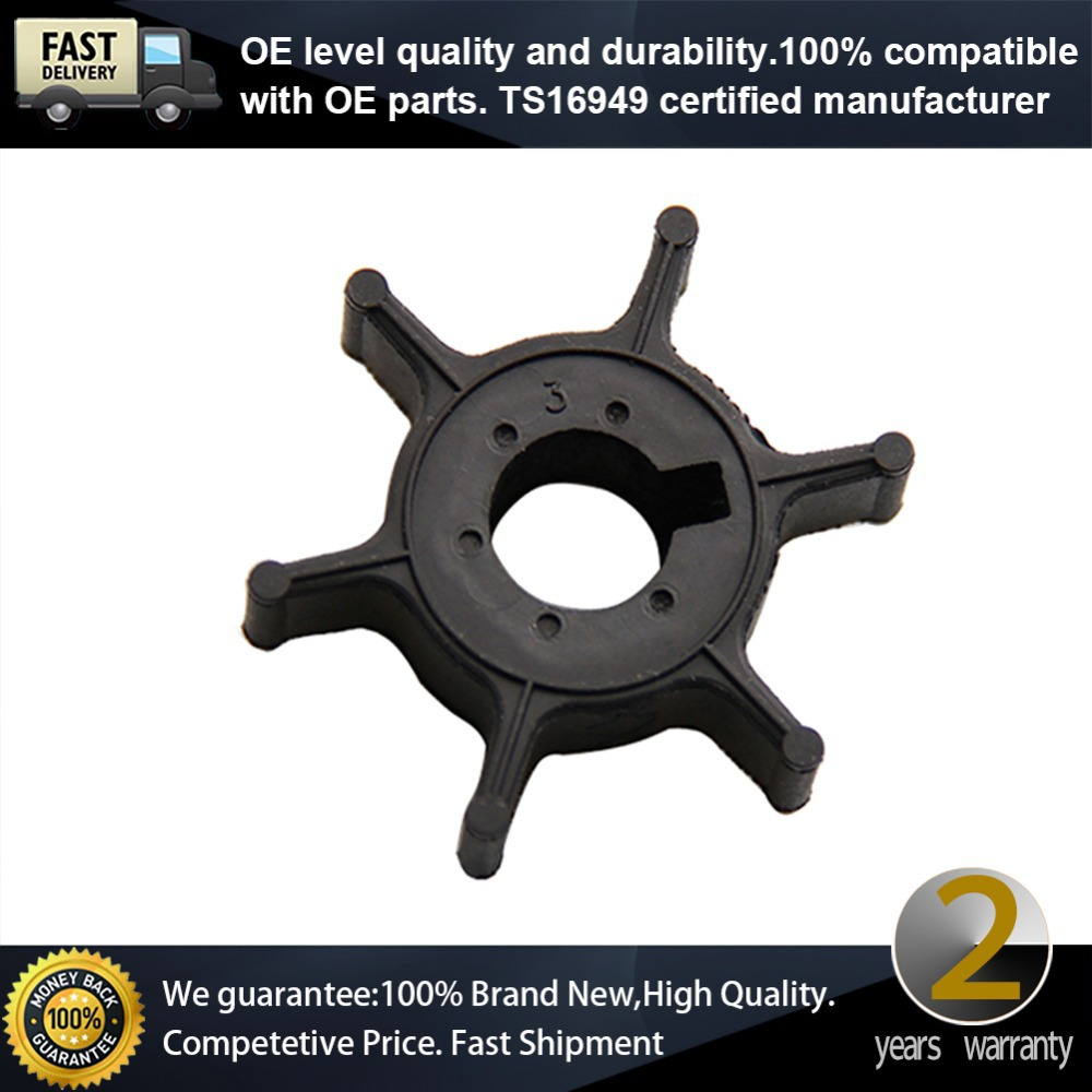 Outboard parts impeller for yamaha 4hp outboard motor for Yamaha boat engine dealers