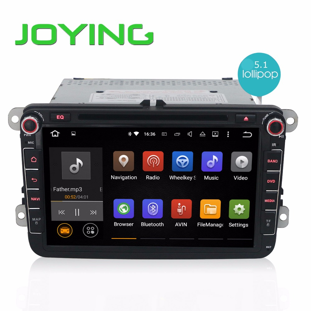 """Android 5.1 Quad Core Car DVD For VW 1024*600 Head Unit 8"""" Car GPS Navigation For Volkswagen Seat Skoda DVD Player Car Stereo(China (Mainland))"""
