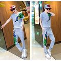 Summer 2016 Jogging Suits For Women Cute Cartoon Women Sport Suit Brand Tracksuit Sports Costomes Hoodies