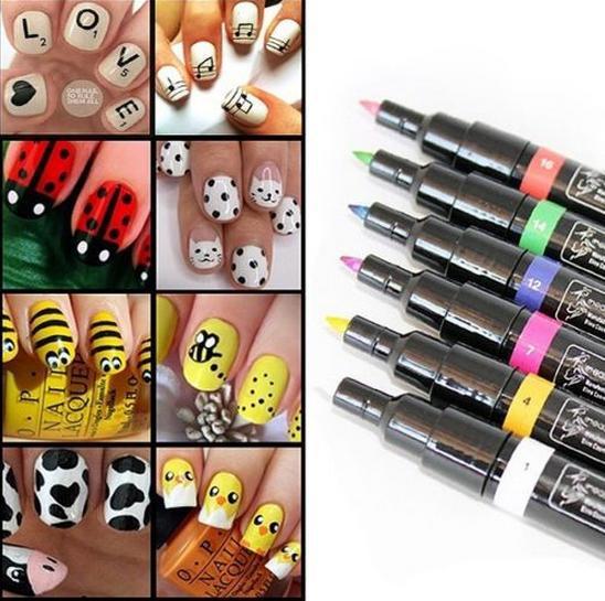 Что нужно для рисования на ногтях в