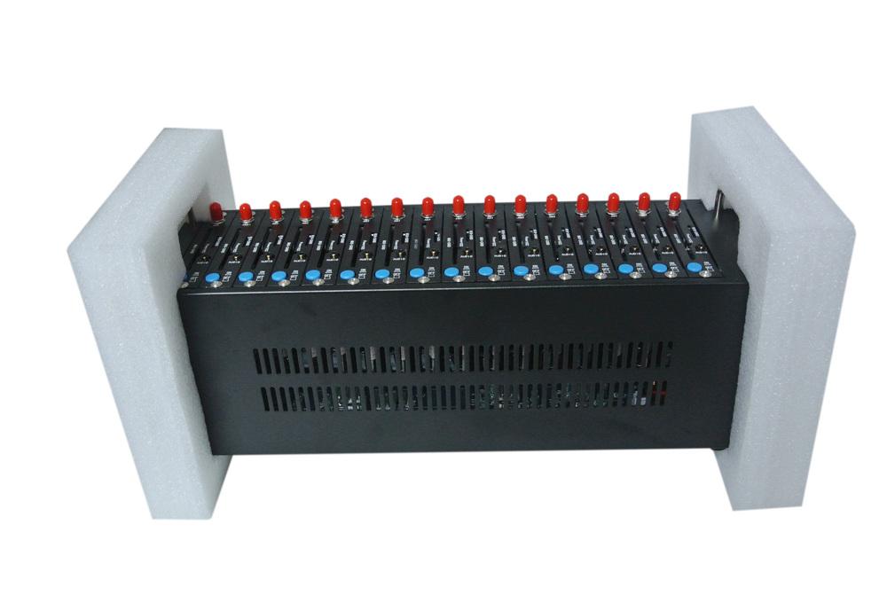 Q2403 GSM Modem Pool 16 ports Wavecom Module USB AT Commands Dual Band(China (Mainland))