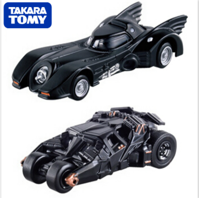 2PCS/LOT Tomica Tomy 100% Original Dark Knight Batman Car Batmobile 1/61 RC Cars Matchbox (Silver Mica Metalic) Kids Toy Gift(China (Mainland))