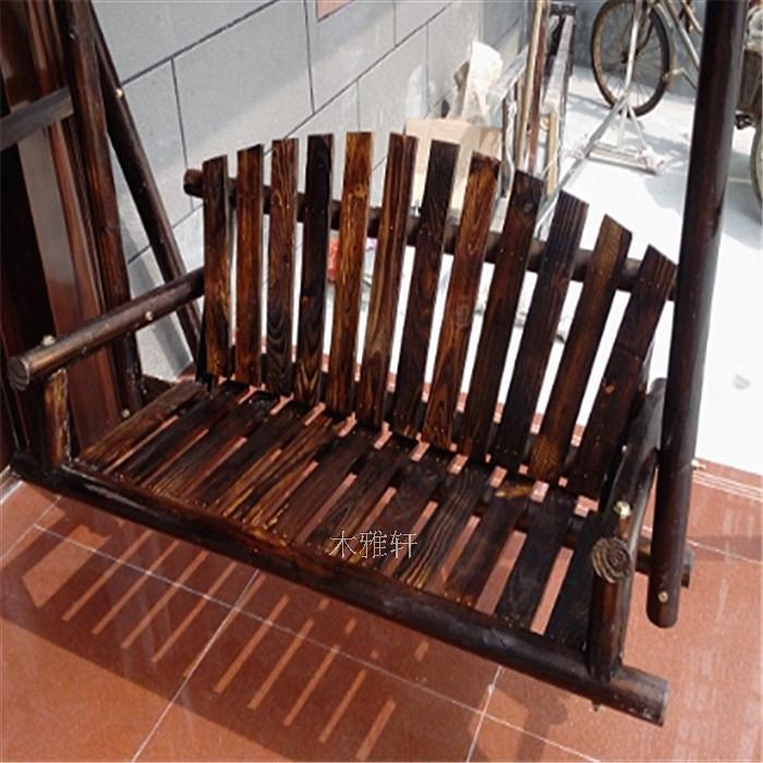 compra columpio de madera de jard n online al por mayor de china mayoristas de columpio de. Black Bedroom Furniture Sets. Home Design Ideas