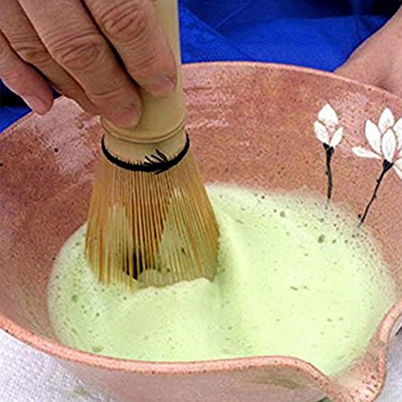 Japanese Tea DIY Maccha Tools Bamboo Brush Matcha Green Tea Natural Bamboo Whisk Sparkling Dozen Milk Tea ZQ883572(China (Mainland))