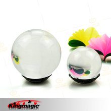 Kingmagic Transparent Crystal Ball (100MM) Light Ball Contact Juggling Best Quality Stage Magic Props Magic Tricks Toys G1216(China (Mainland))