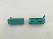 5pcs NEW 24 Pin Universal ZIF DIP Tester IC Test Socket 2.54mm(China (Mainland))