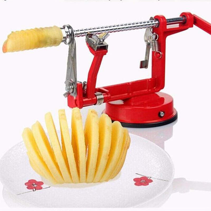 3 in 1 apple peeler fruit peeler slicing machine / stainless steel apple fruit machine peeled tool Creative Home Kitchen(China (Mainland))