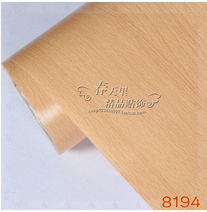 Waterproof and moistureproof wear-resisting wood furniture refurbished sticker ambry chest freezer wallsticker 90CMX6M KITCHEN(China (Mainland))