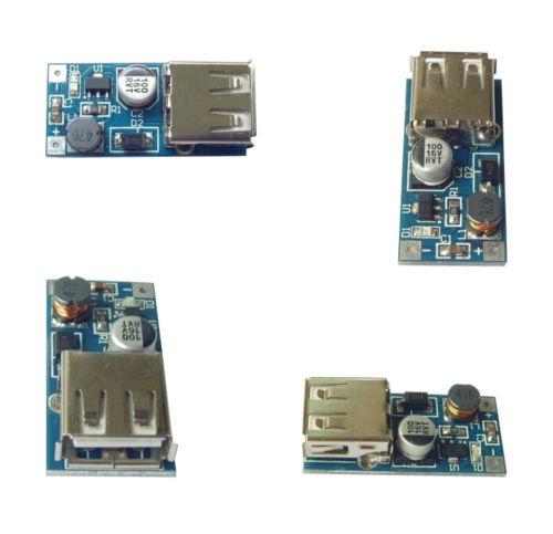 1Pcs Mini DC-DC USB 0.9V-5V to 5V Boost Step-up Power Supply Module PFM Control(China (Mainland))