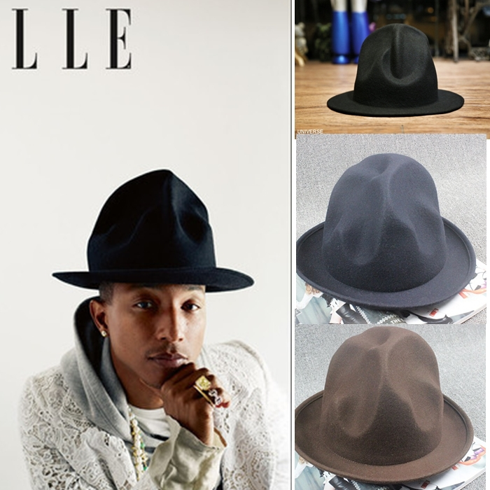 Pharrell Hat Brand Felt Mountain Hat Pharrell