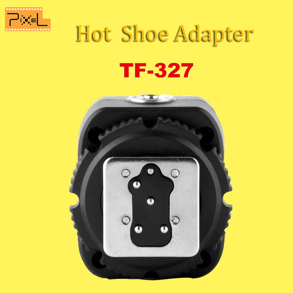 Pixel TF-327 ITTL Flash Hot Shoe Convert to PC Sync Adapter For Nikon DSRL Cameras D7000 D3200 D800 D750 D700 D90 D80 Flashguns(China (Mainland))