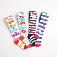 Retail 2016 New Children Clothing Combed Cotton Kids Girls Tights Cute Kitty Spring Autumn Pantyhose 1-5Y Girls Clothes