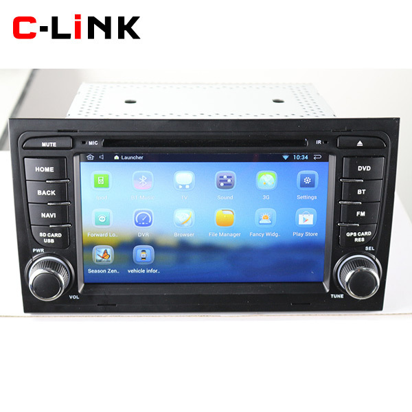 Dual Core 1024*600 Screen Android 4.4 Car PC For Audi A4 S4 RS4 2002-2008 With BT WIFI 3G GPS Navigation OBD Video Radio Player(China (Mainland))