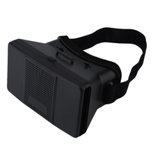 Google Cardboard Virtual Reality VR 3D Glasses 3D Movies Games TV Glasses with Head Strap For 4-6.5″ Android iOS Mobile Phones
