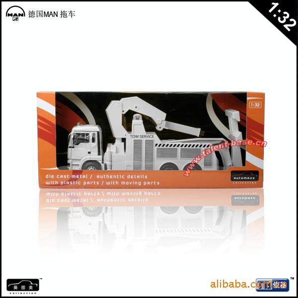 High Quality!!! JUNJI MAN Trailer Truck Car Acron 1:32 Alloy 37.5*12*16cm Vehicle Toys Gifts Models(China (Mainland))