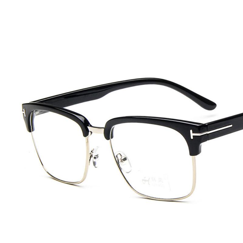 classic square tf glasses frame men women myopia prescription clear lens glasses frames optical reading eyeglasses