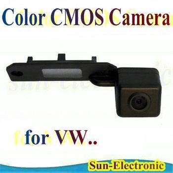 Special Car Rear View Reverse Camera for Touran Passat Jetta Caddy Golf Plus Multivan T5 Transporter Skoda Superb