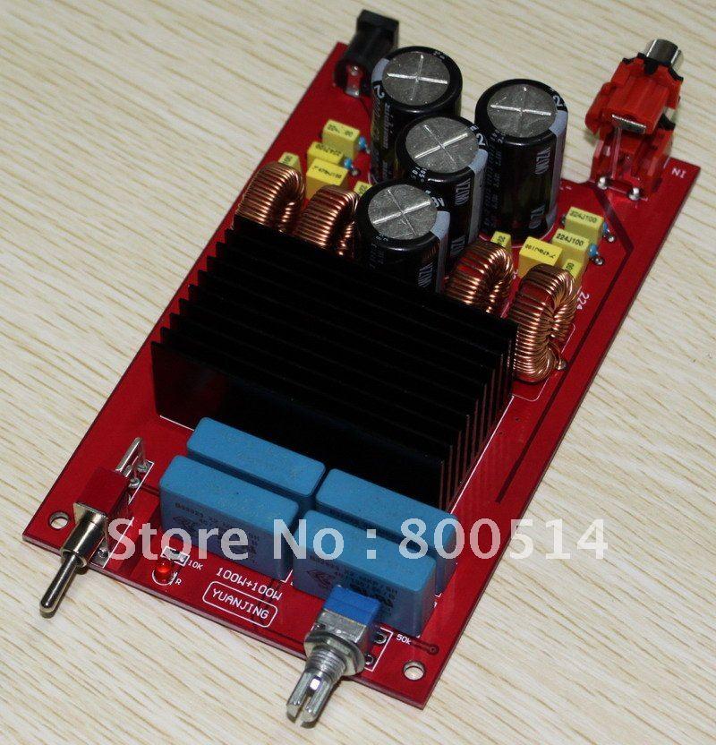 Assembled TDA7498 Audio Power amplifier board 100W+100W(China (Mainland))
