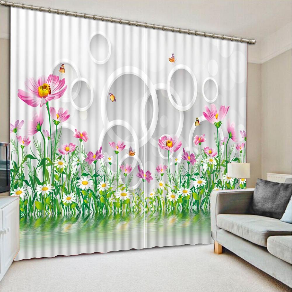 valance curtains for living room Loop gordijnen voor de woonkamer curtains for children luxury curtains kitchen door curtains(China (Mainland))