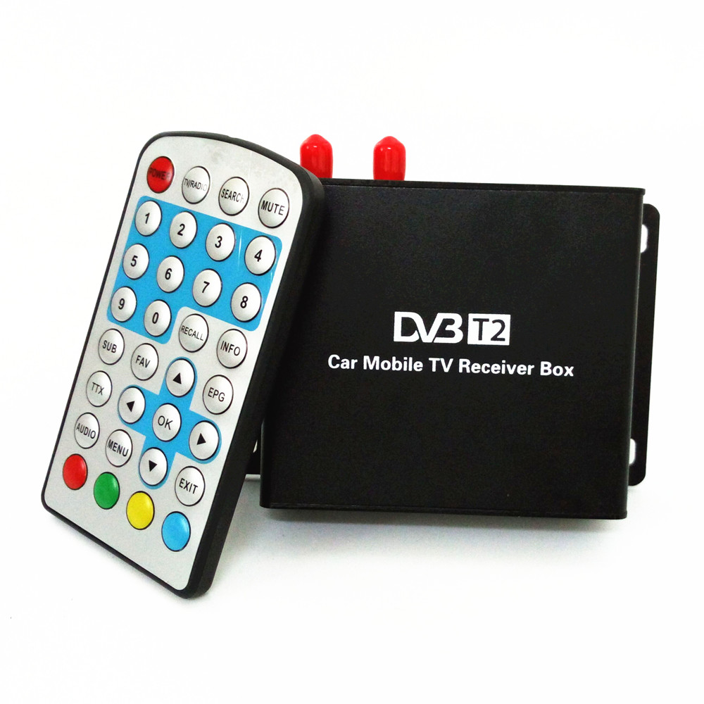 Support 160-180km/h DVB-T2 two tuner & active antenna Digital TV receiver Compatible with SD/HD MPEG2 and MPEG4 AVC H.264(China (Mainland))