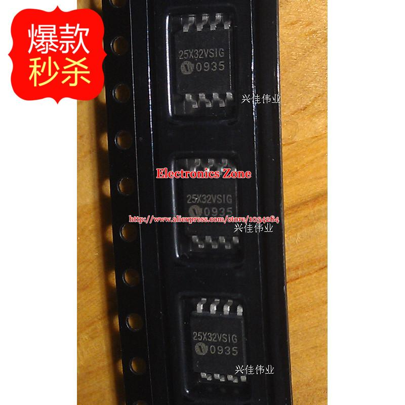 New genuine original W25X32VSSIG 25X32VSIG FLASH memory storage device(China (Mainland))