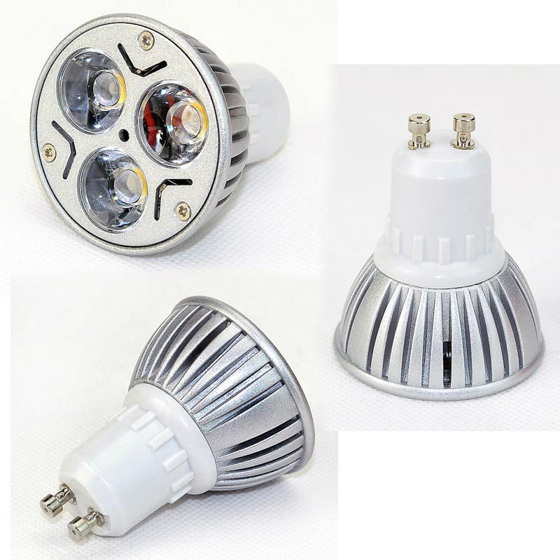 High Power LED Lamp GU10 3W,AC 85V-265V Warm WhiteGU10 3W Bulb 240LM - GuangZhou Farlone Lighting Co, Ltd. store
